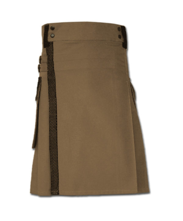 Net Pocket Kilt for Working Men sand 5