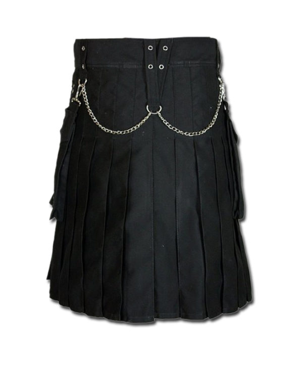 Fashion Kilt for Burning Man black 2