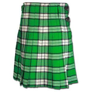 Longniddry Green Modern Tartan Kilt