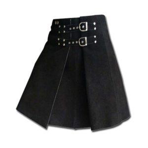 Roman Gladiator Warrior Leather Kilt