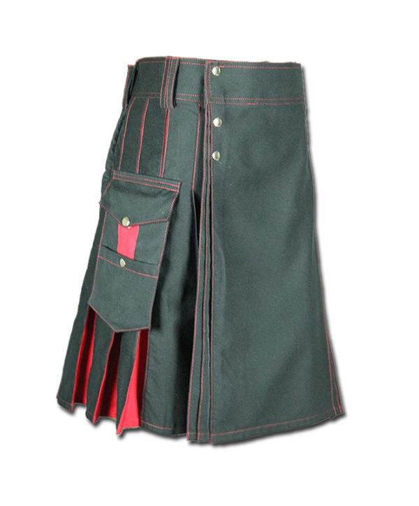 Santa claus Kilt for Stylish Men grey pink