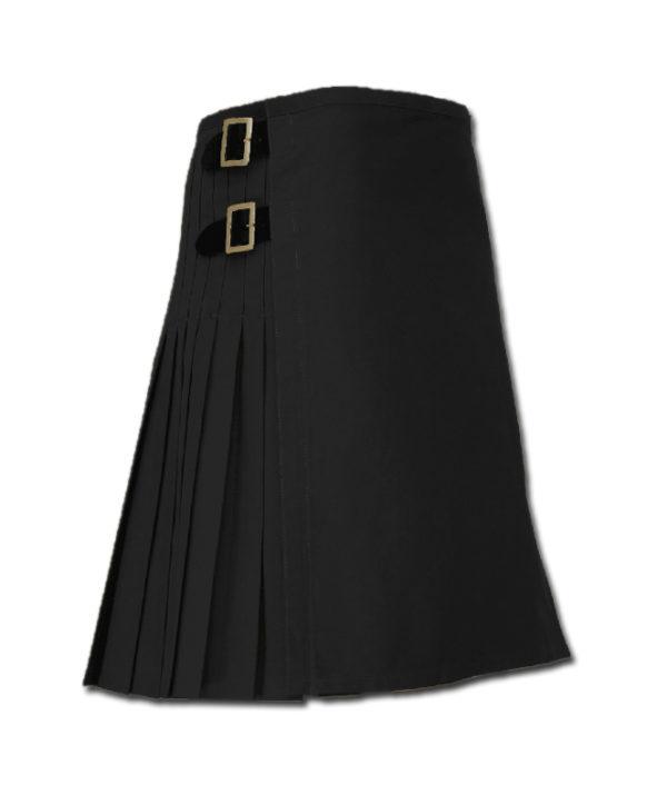 Sexy Kilt for Hot Men black