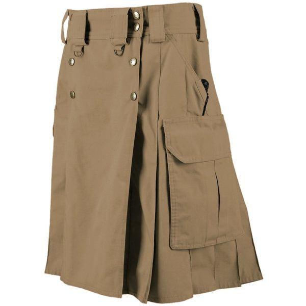 5.11 Battle Brown tactical-duty-kilt