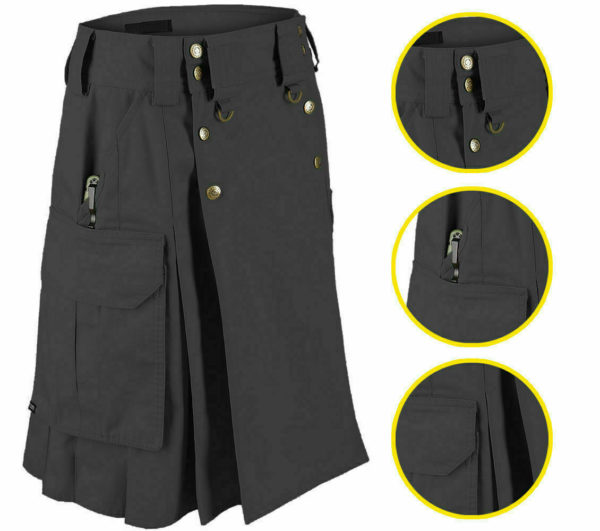 5.11 dark black tactical-duty-kilt.