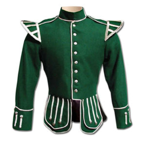 Green Drummer Military Doublet