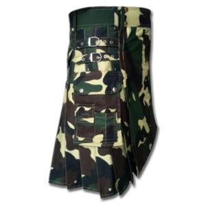 Woodland Camouflage Royal Kilt