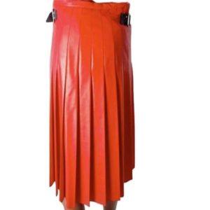 Ladies Leather Gladiator Tailor Kilt