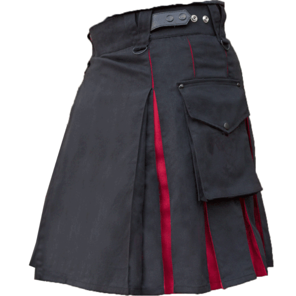 KJ-Black-Red-Hybrid-Kilt-Side-2
