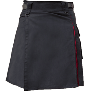 KJ-Black-Red-Hybrid-Kilt-front