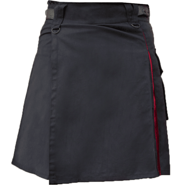 KJ-Black-Red-Hybrid-Kilt-front-1