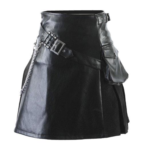 gothic-punk-leather-kilt/