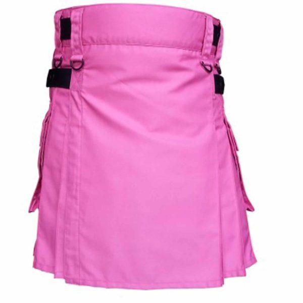 pink-utility-kilt-highland-women-costume-cottonback