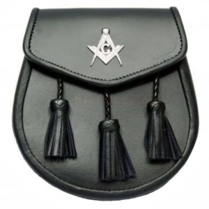Masonic Leather Sporran