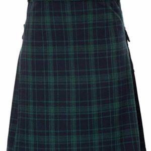 Mens Traditional Highland Scottish Kilt Tartan Utility Kilt