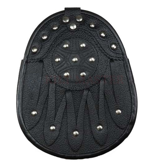 Studded Leather Sporran