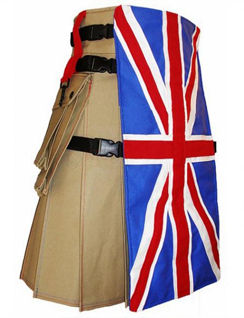 UK Flag Utility Kilt