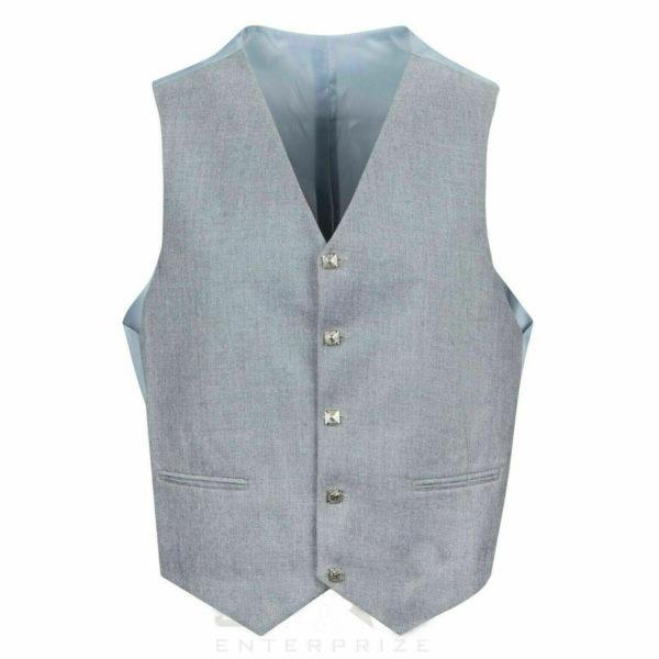 Grey Pipe Band Scottish Argyle kilt Jacket & WaistcoatVest2