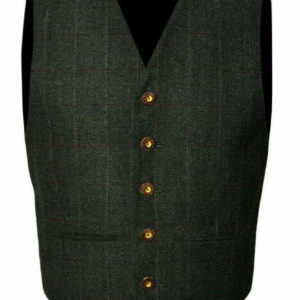 Trendy-Scottish-Tweed-Argyle-Kilt-Jacket-With-Waistcoat-Vest
