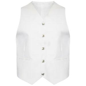 White Scottish Argyle kilt Jacket & Waistcoat1