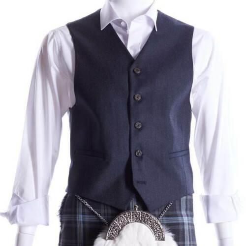 Crail Kilt Jacket and Waistcoat in Midnight Blue3