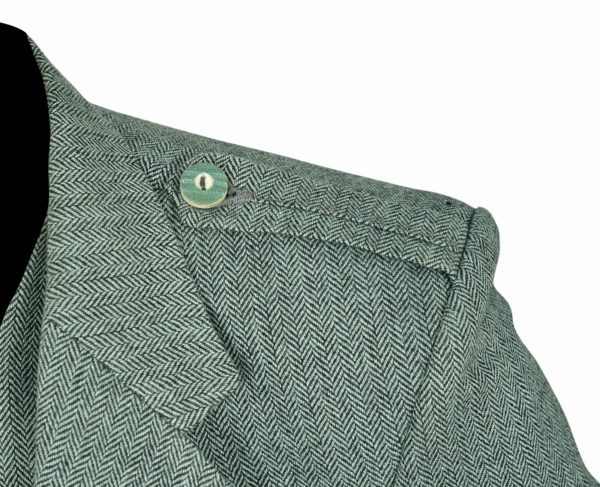 Lovat-Green-Tweed-Argyle-Kilt-Jacket-Button-Vest