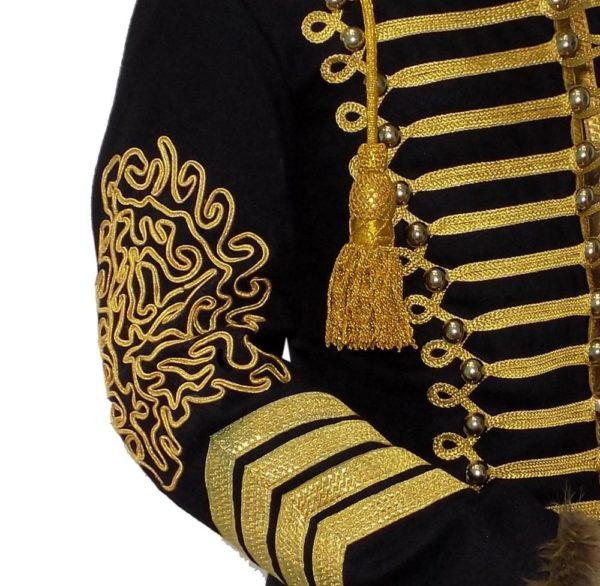 Napoleonic-Hussars-Uniform-Military-Style-Tunic-Pelisse-4