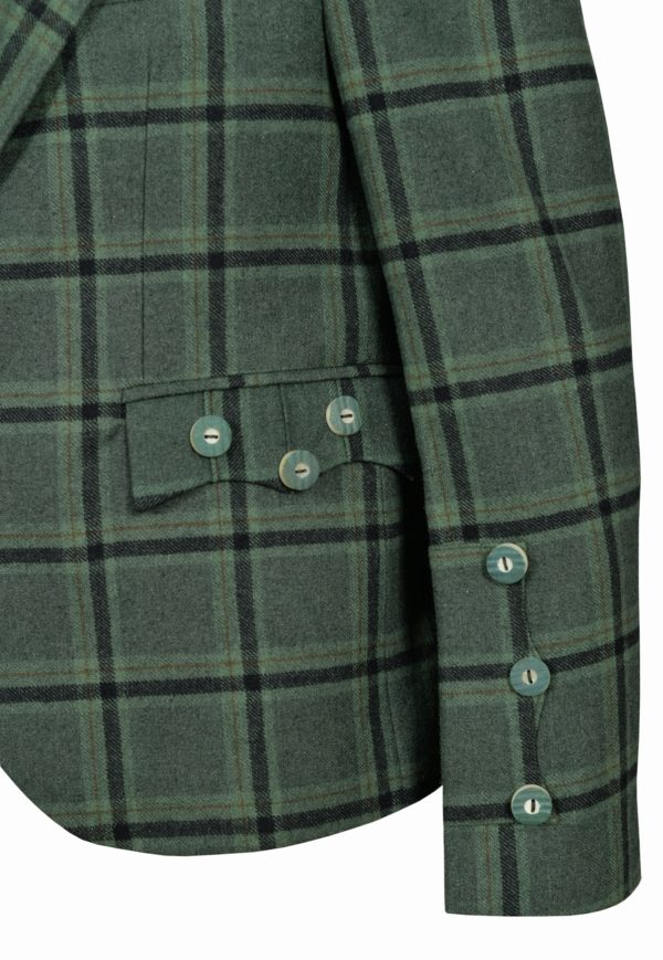 Traditional-Style-Lovat-Green-Tweed-Argyle-Kilt-Jacket-With-5-Button-Vest…2