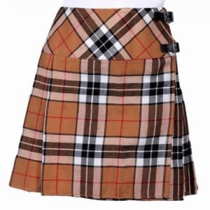 New Ladies Thomson Camel Tartan kilt