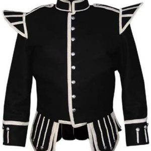Black Drummer Military Doublet