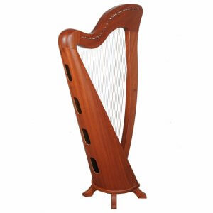 34 String McHugh harp By Muzikkon, Irish Lever harp, Celtic Irish Harp