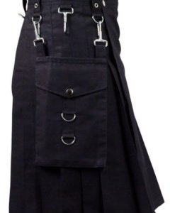 Black Cargo Utility Carhartt Work Kilt For Sale