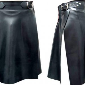 Men's Black Leather Kilts For Sale 2020