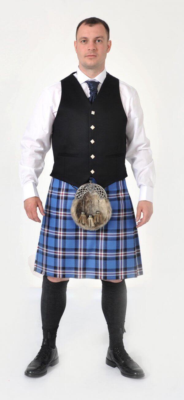 Scottish 8 Yard Rangers Dress Modern kilt outfits