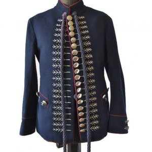 Men's Sokol Costume Embroidered Military Jacket