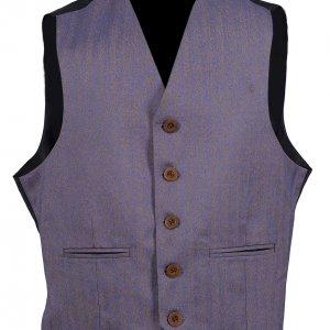 Light Purple Herringbone Tweed Crail/Argyle Jacket & Vest