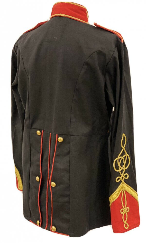 Steampunk Jacket  Gold Rope With Brass Buttons