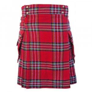 Royal Stewart Tartan Utility Kilt Scottish Fashion Kilts