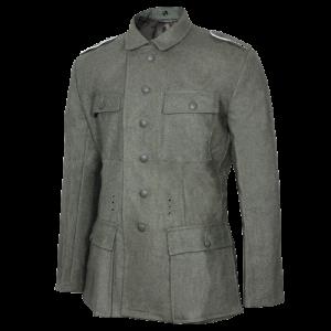 WW2 German M43 Field Grey Wool Tunic Repro Army Heer Jacket